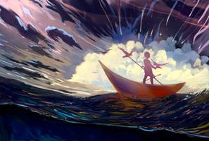 Sail away by Hangmoon