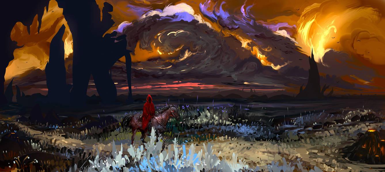 Dark land by Hangmoon