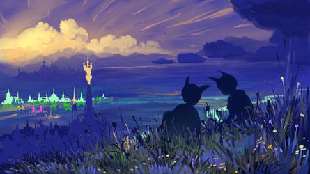 Somewhere in fantasy world