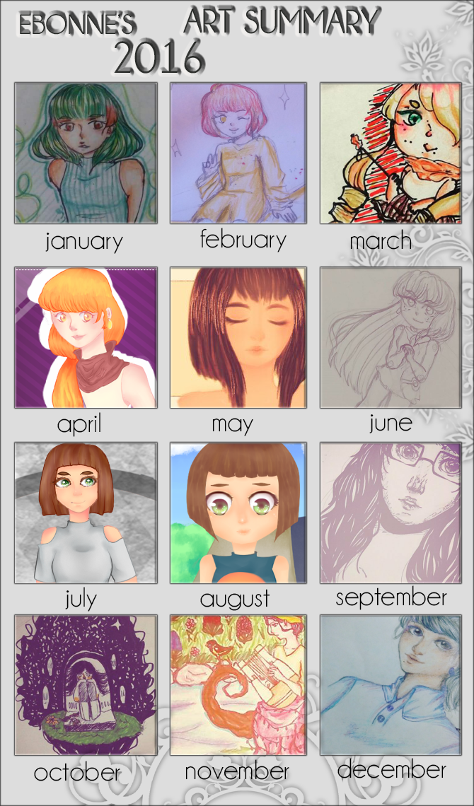 Summary Art 2016 by Ebonne