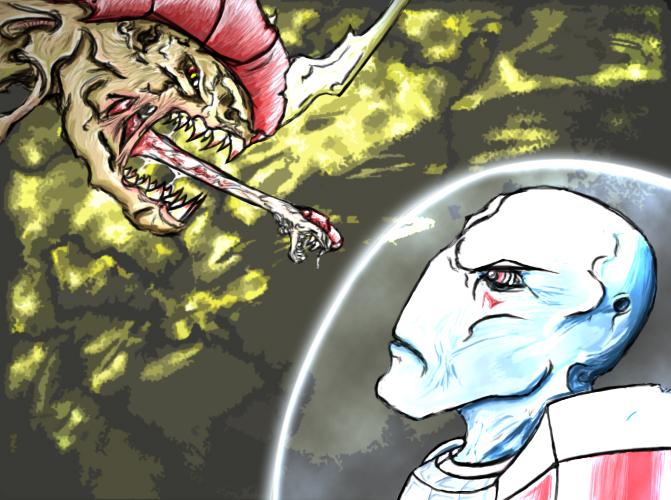Tau Vs Carnifex 2 by Infernal-Mercy