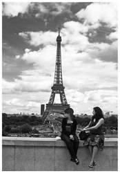 Looking over Paris by NowPictured