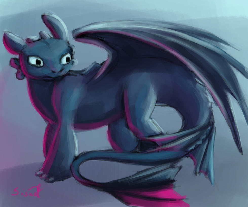 Toothless by sisaat