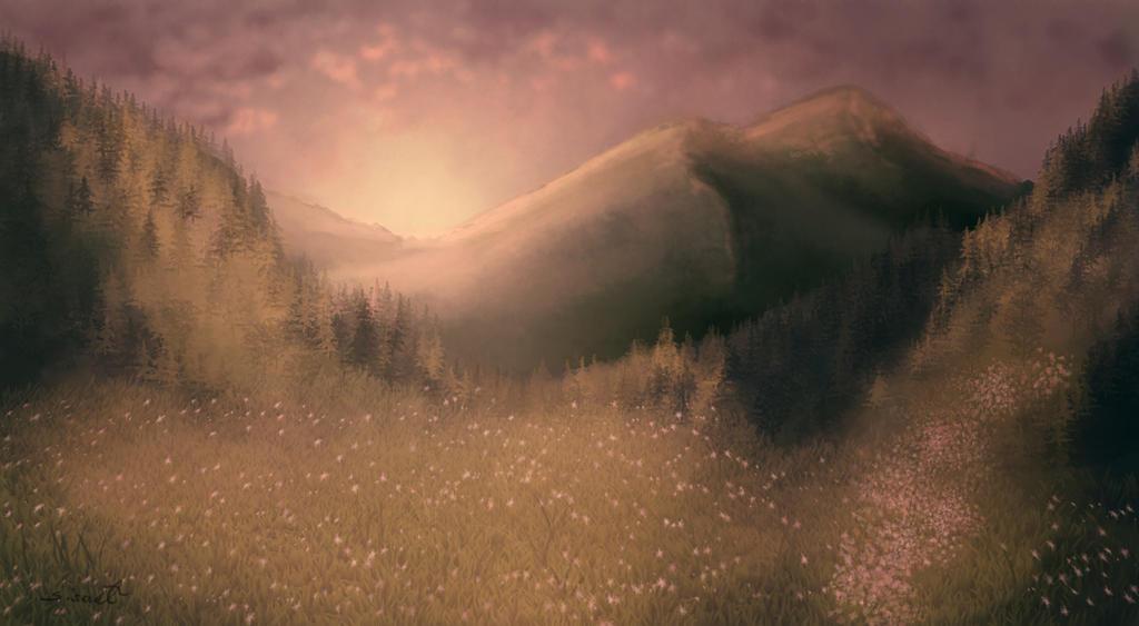 Landscape by sisaat