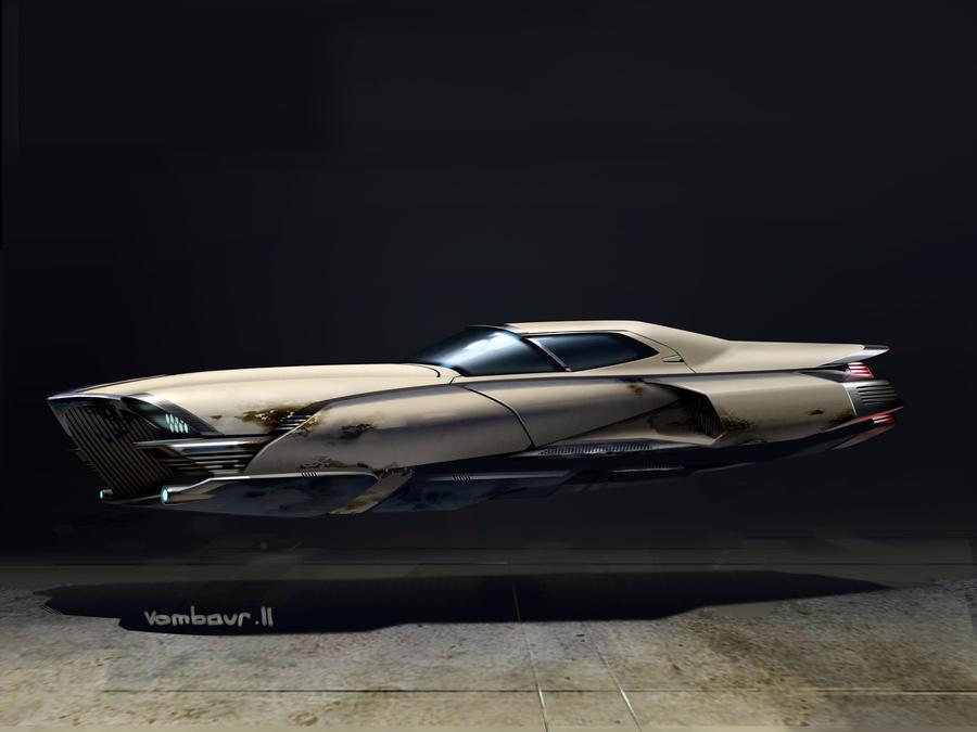 Flying Car Concept Art