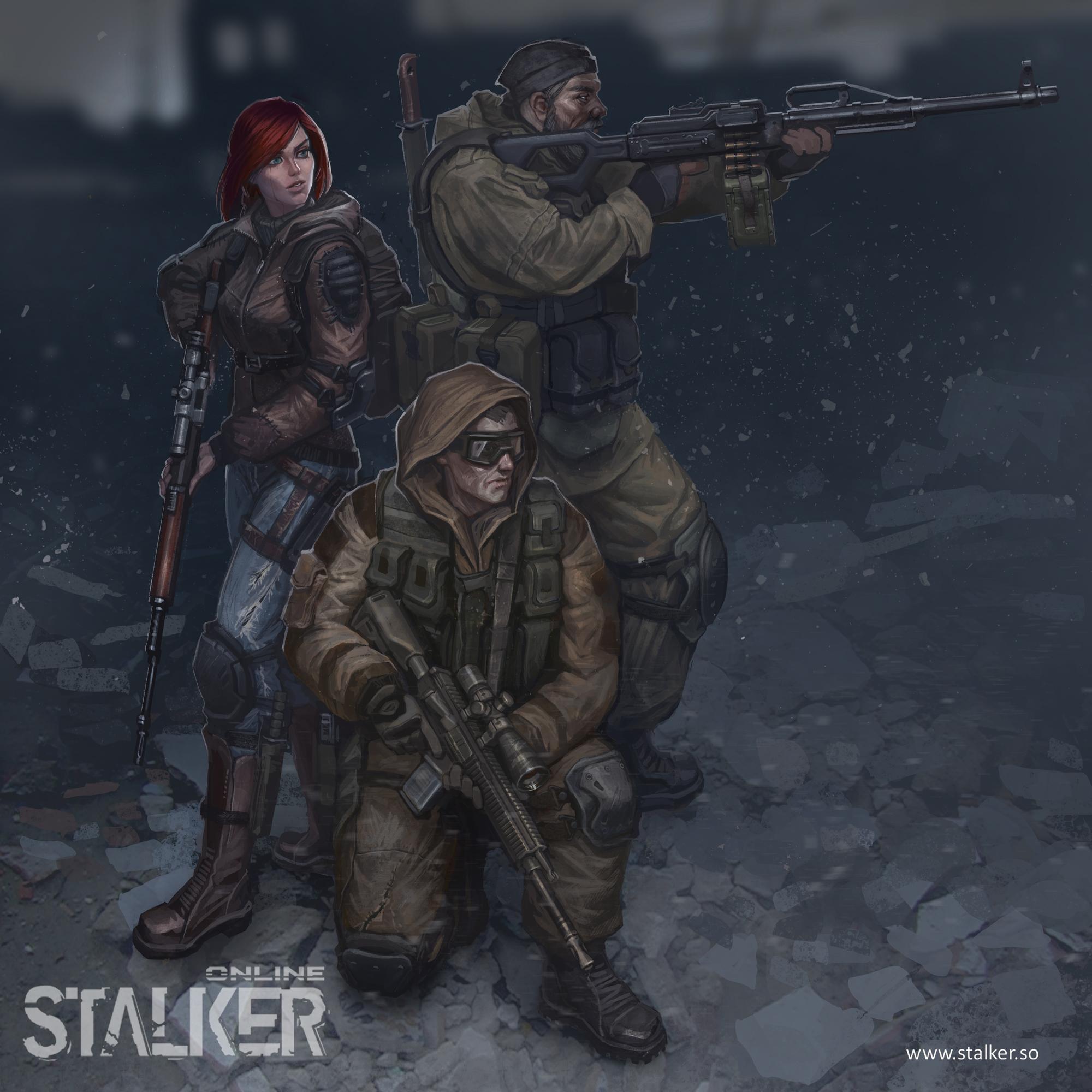 Stalker Online poster 4