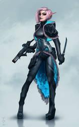 Mercenary by vombavr