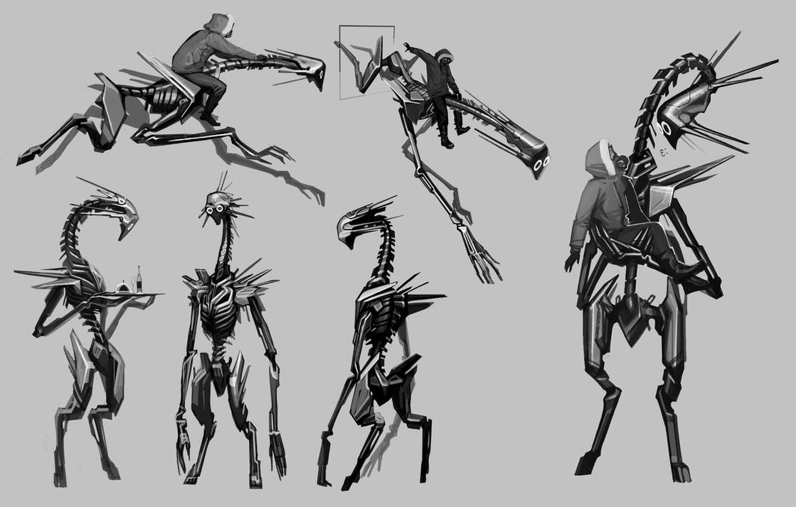 RA sketches by vombavr