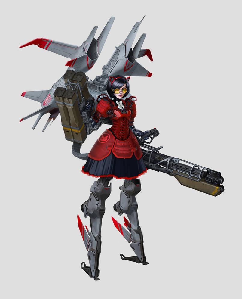 Battlegirl by vombavr
