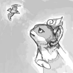 Bye Bye, Birdy by Spiribia