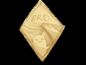 Bro Badge