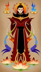 Fire Lord Zuko by shandyscribs