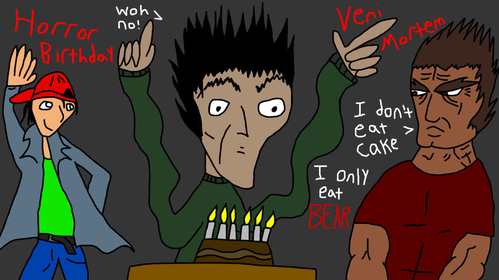 HORROR Birthday Veni Mortem!