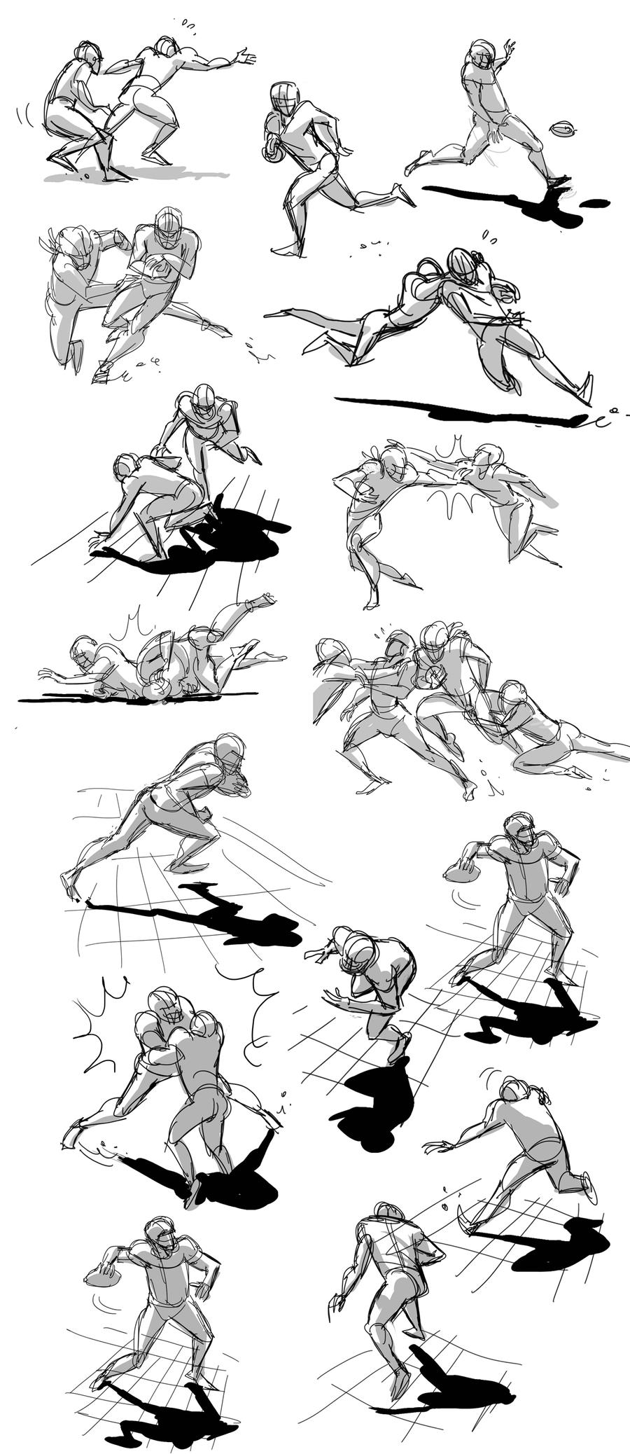 gesture drawings by flavianos