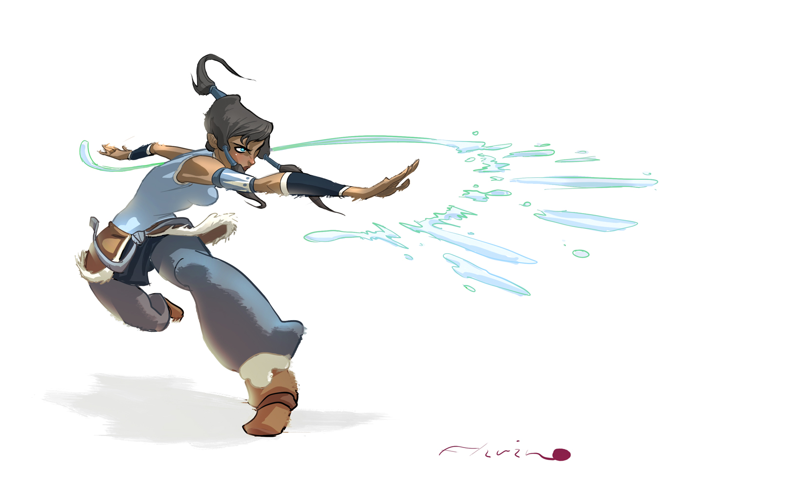 daily Korra 01 by flavianos