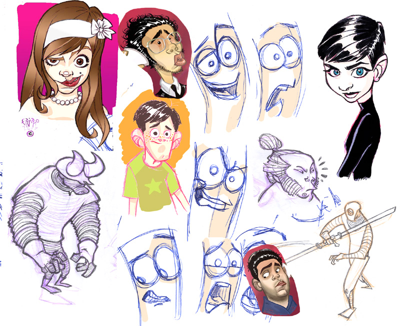 sketches2 by flavianos