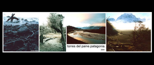 torres del paine. by incubi