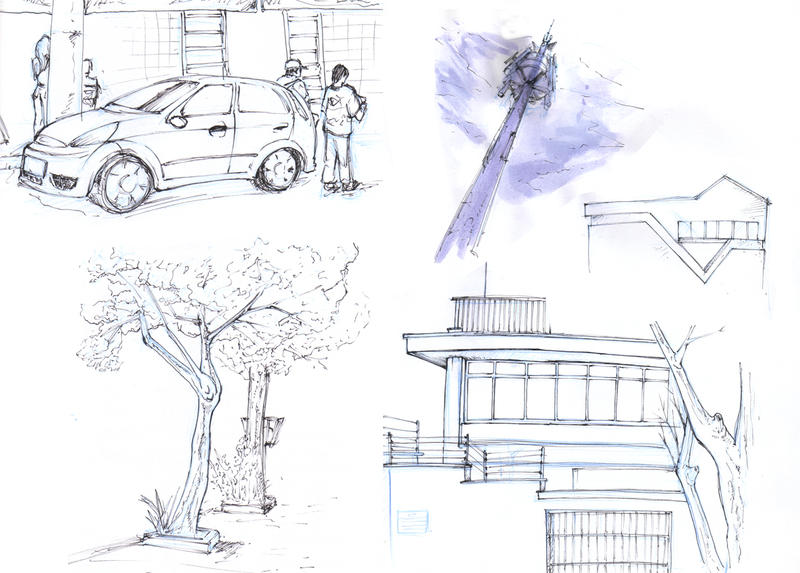 sketchcrawl brazil by monteirohq
