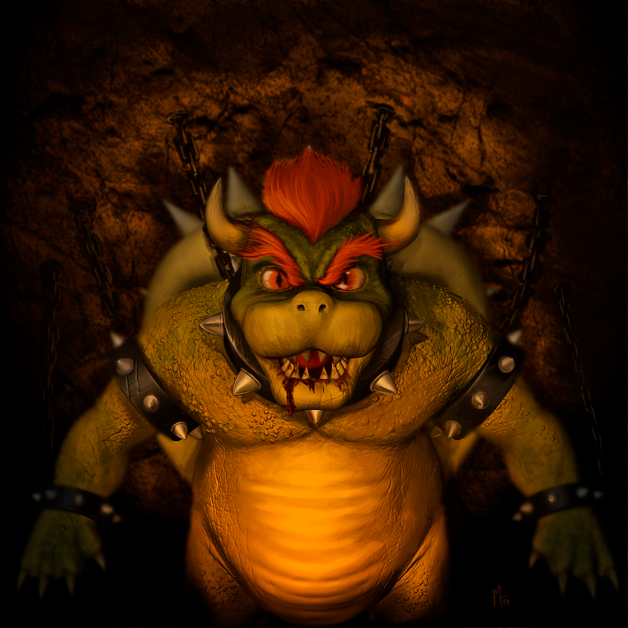 Bowser Fanart by monteirohq