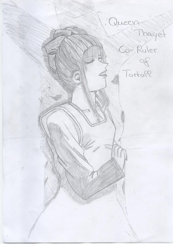 Queen Thayet by Shawnkyr