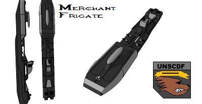 UNSCDF Frigate by Gwentari