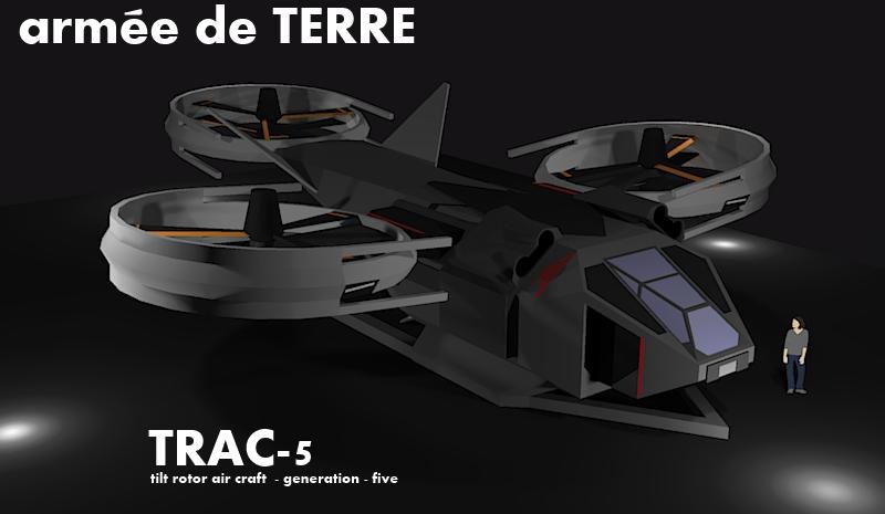TRAC-5 VTOL by Gwentari
