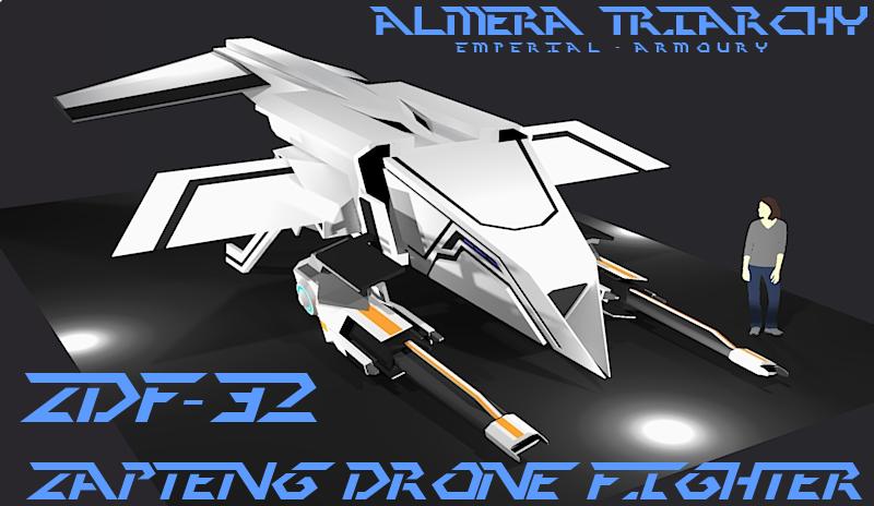 Zapteng Drone Fighter by Gwentari