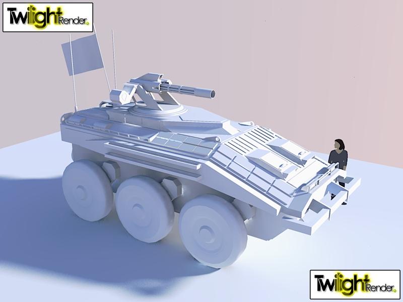 WIP Type 106 APC by Gwentari