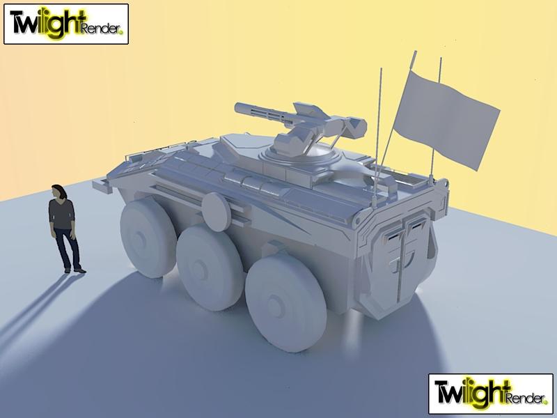 WIP Type 106 APC Back by Gwentari