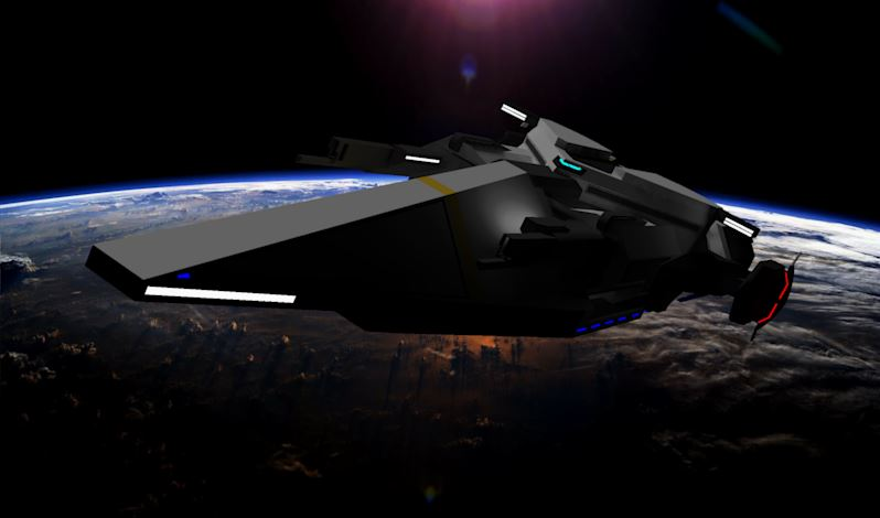 Angel Class Cruiser [Terrans] by Gwentari