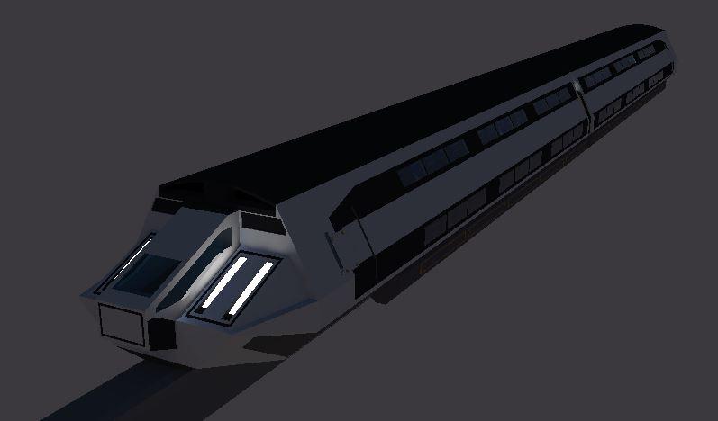 Bullet Train Render by Gwentari
