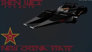 Shen Wei Frigate [New China] by Gwentari