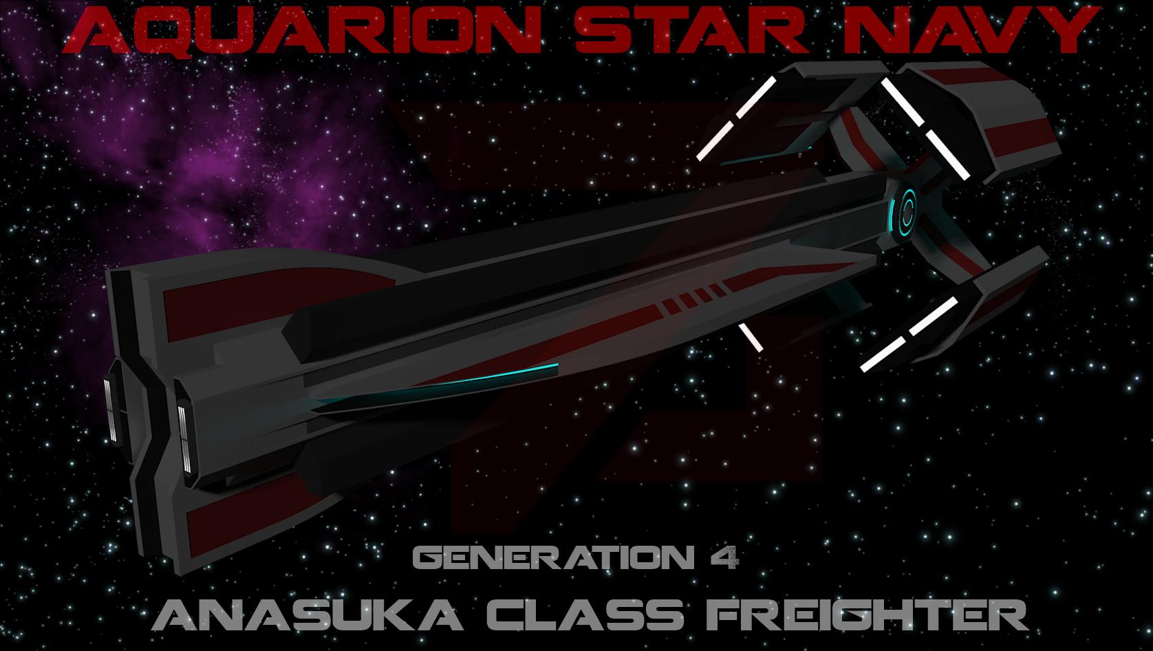 Anasuka Class Freighter [Aquarions] by Gwentari