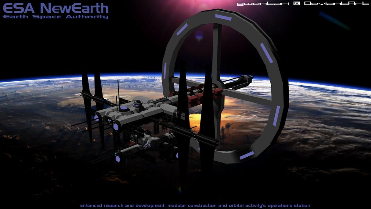 New Earth by Gwentari