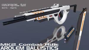 Arolem Mk2 Combat Rifle by Gwentari