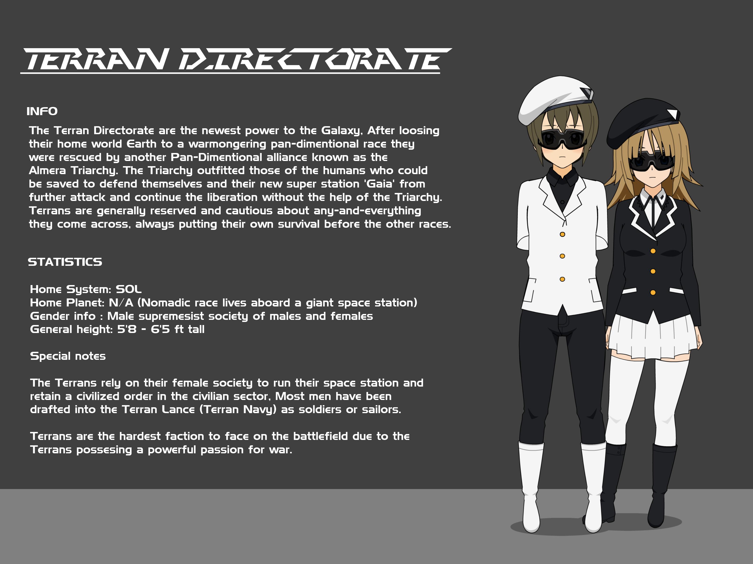 Terran Directorate by Gwentari