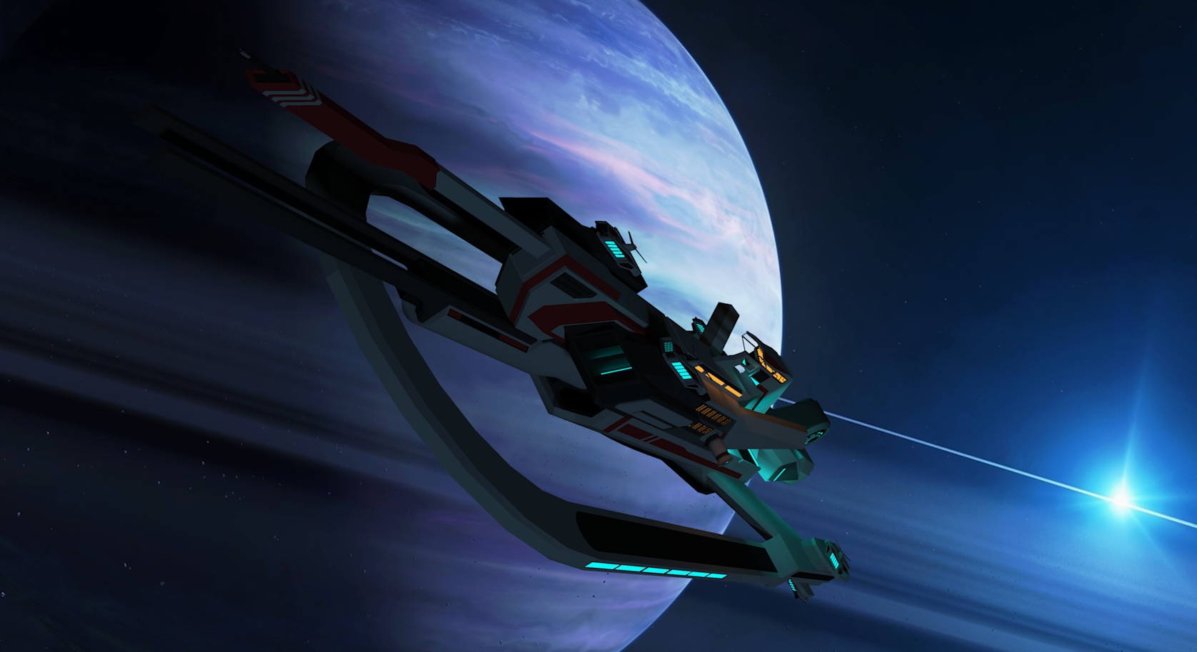 Banuri Class Destroyer [Aquarion] by Gwentari