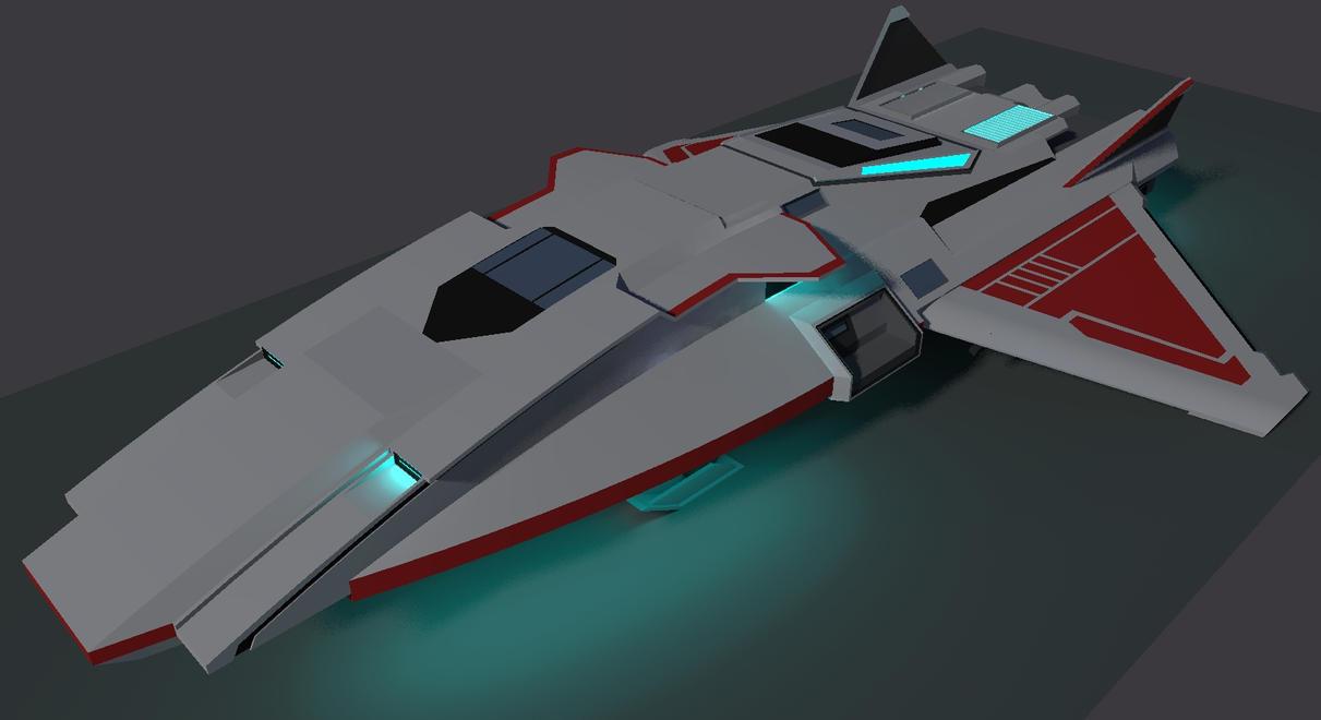 Sakura Class Corvette by Gwentari