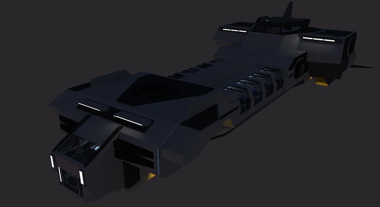 Prime Class Heavy Corvette by Gwentari