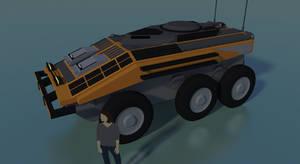Industrial Transport Vehicle by Gwentari