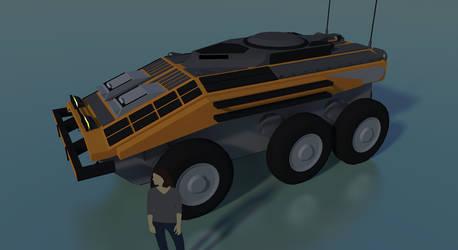 Industrial Transport Vehicle