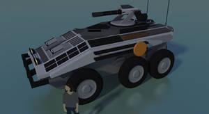 Terran Type 110 Cadhigan IFV by Gwentari