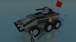 NC Type 106 Chengdan APC by Gwentari