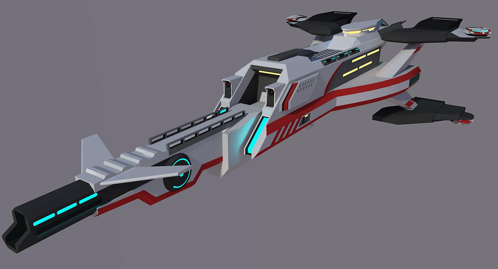 Shirasagi Class Frigate [Aquarion] by Gwentari