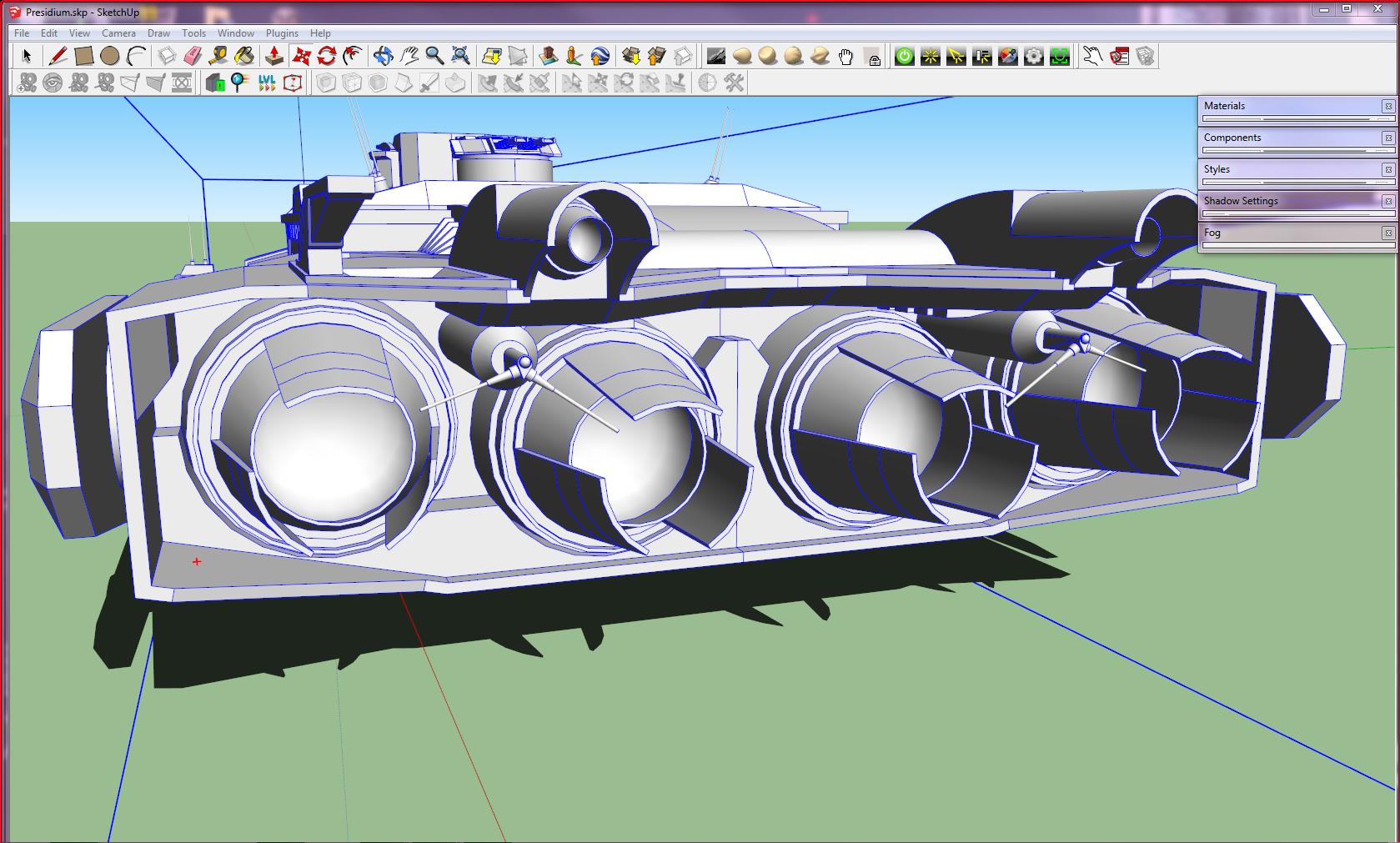 Presidium Engine Block [WIP] by Gwentari