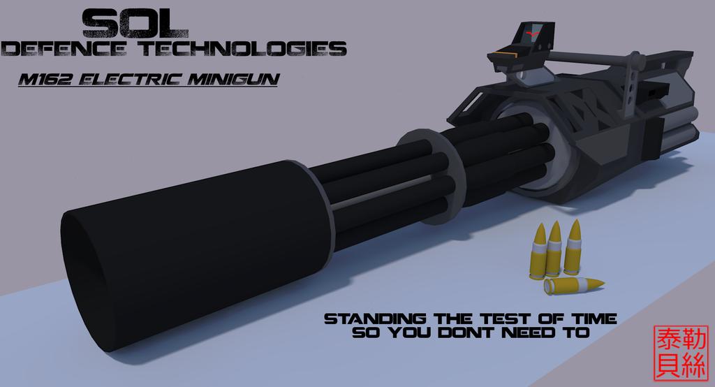 M162 'Reaper' Electric Minigun by Gwentari
