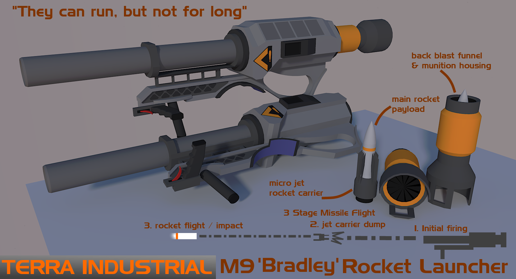 M9 Bradley Rocket Launcher by Gwentari