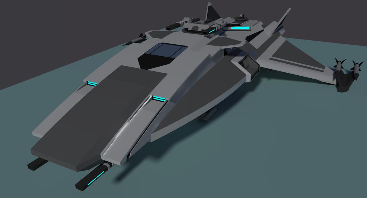 Sakura-H Class Corvette [Aquarions] by Gwentari
