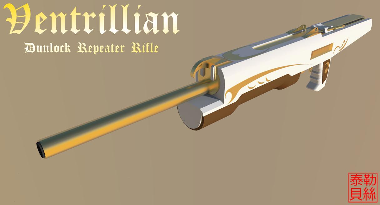 Dunlock Repeater Rifle by Gwentari