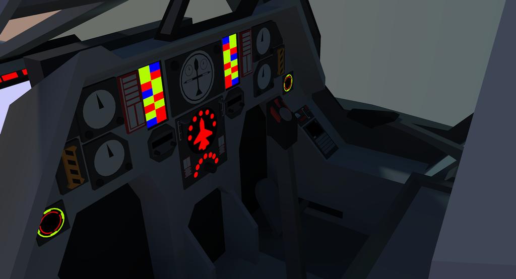 TI 28 Pilot Cockpit [Terran] by Gwentari